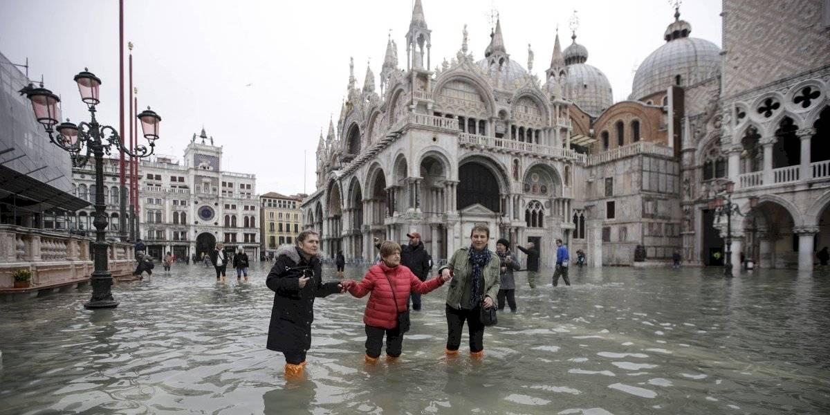 Venecia está más triste que en la canción de Charles Aznavour: vuelve a inundarse tres días después de marea récord