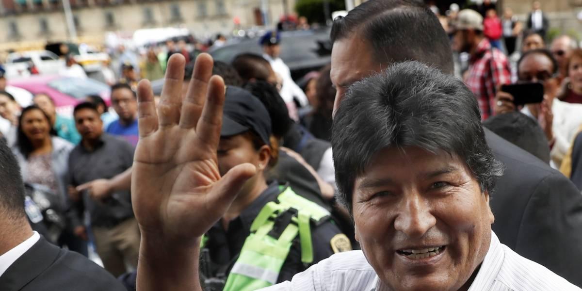 Bolivia reclamará a México por tuits de Evo Morales