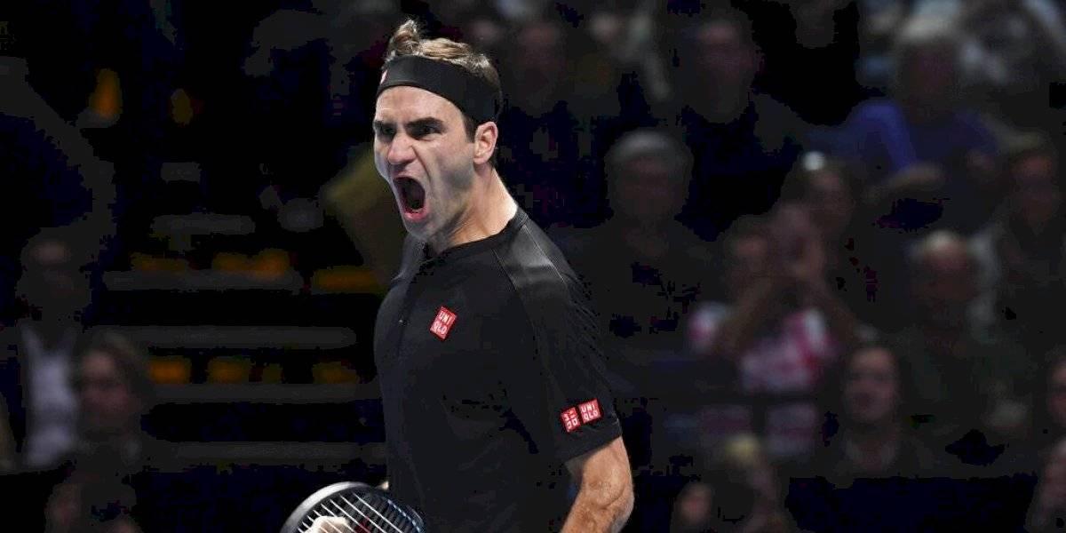 Roger Federer elimina a Djokovic de las Finales ATP