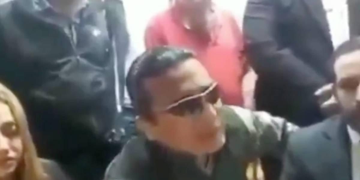 (Video) Grupo de ultraderecha que quiere defender Medellín en paro amenaza con cañones