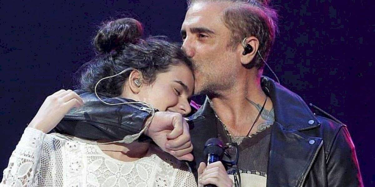 Camila, hija de Alejandro Fernández, habría arremetido contra repartidor y lo insulta