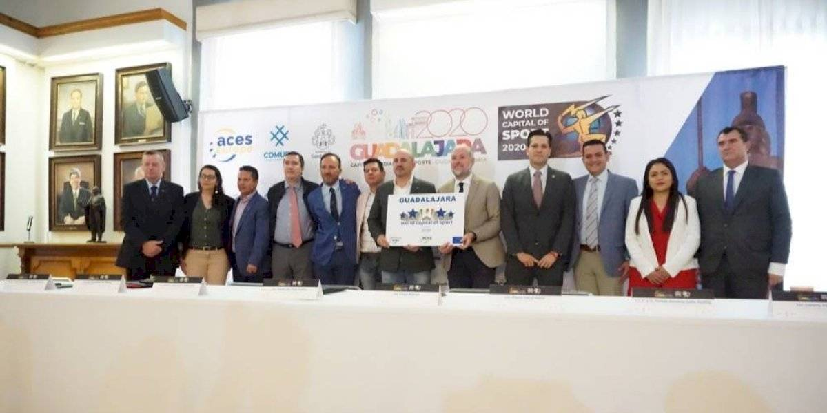 Guadalajara, candidata a ser Capital Mundial del Deporte