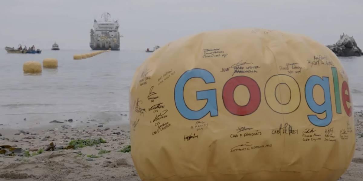 El cable Curie de Google, que une Estados Unidos con Chile ya está instalado y probado