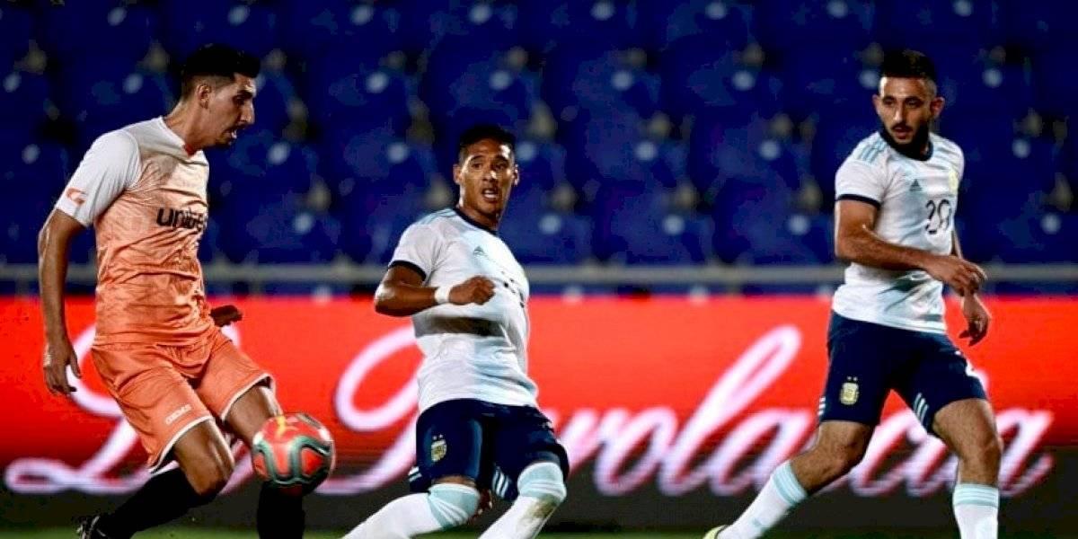 ¡14-0!: Argentina sub 23 apabulló a Islas Canarias en cuadrangular preparatorio para el Preolímpico de Colombia