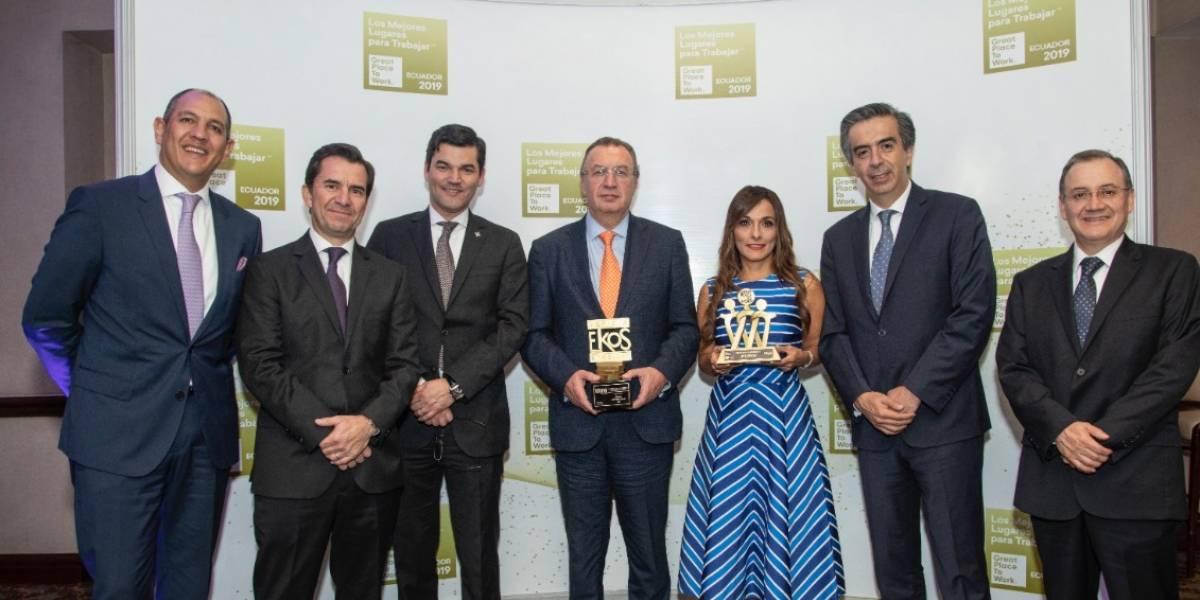 """Banco Internacional obtuvo reconocimiento de """"Great Place to Work"""""""