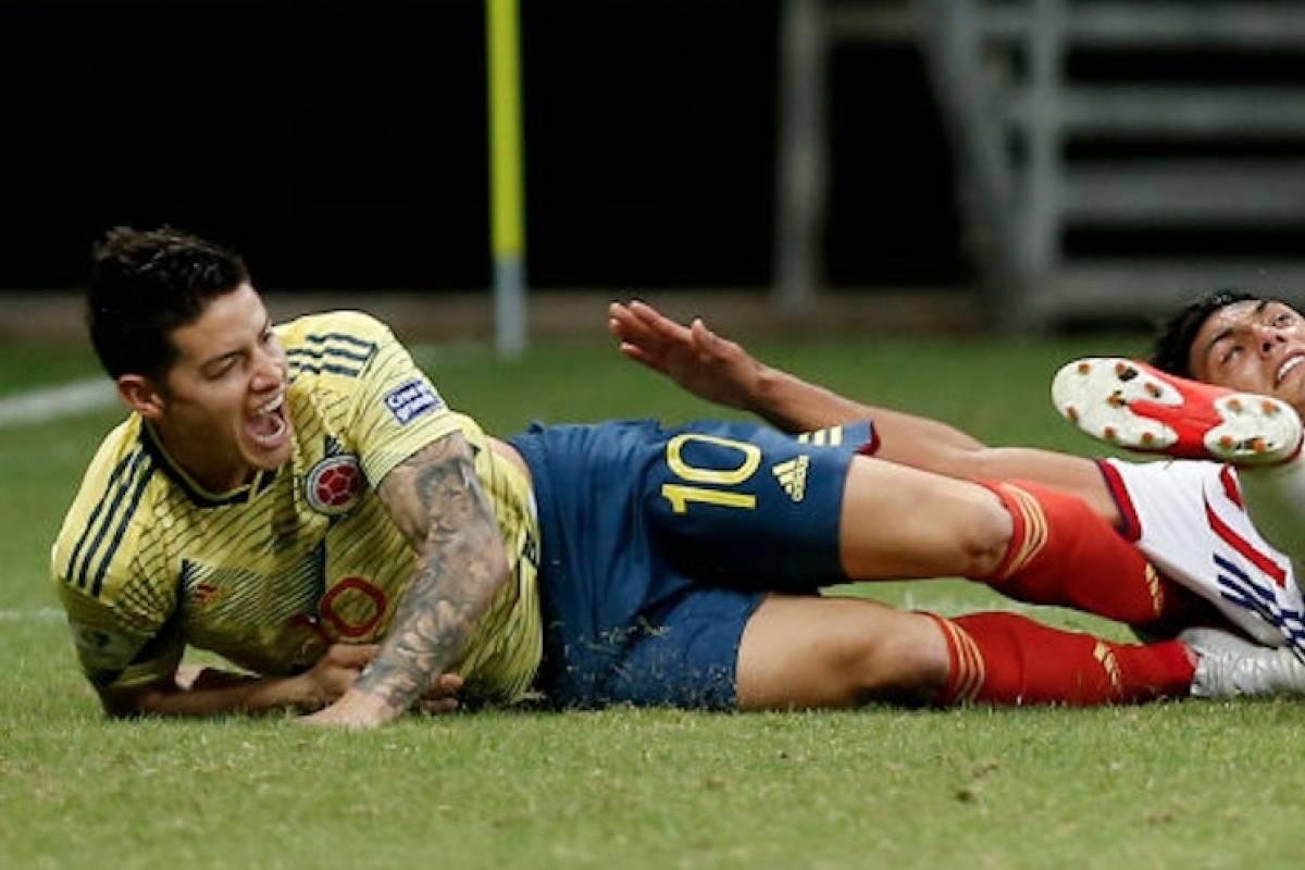¡ATENCIÓN! Reportan lesión de James Rodríguez que lo sacaría ...