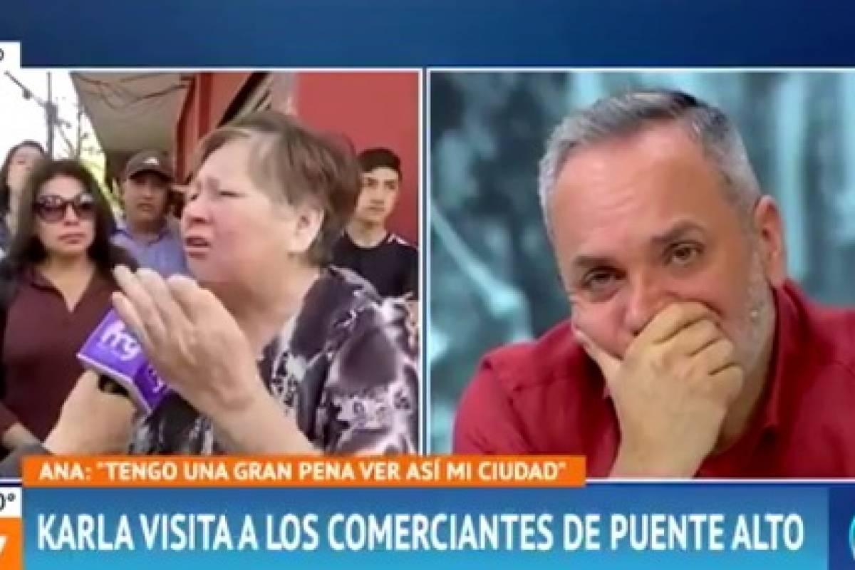 """El testimonio de vecina de Puente Alto que dejó callados a los panelistas del """"Mucho Gusto"""" - Publimetro Chile"""