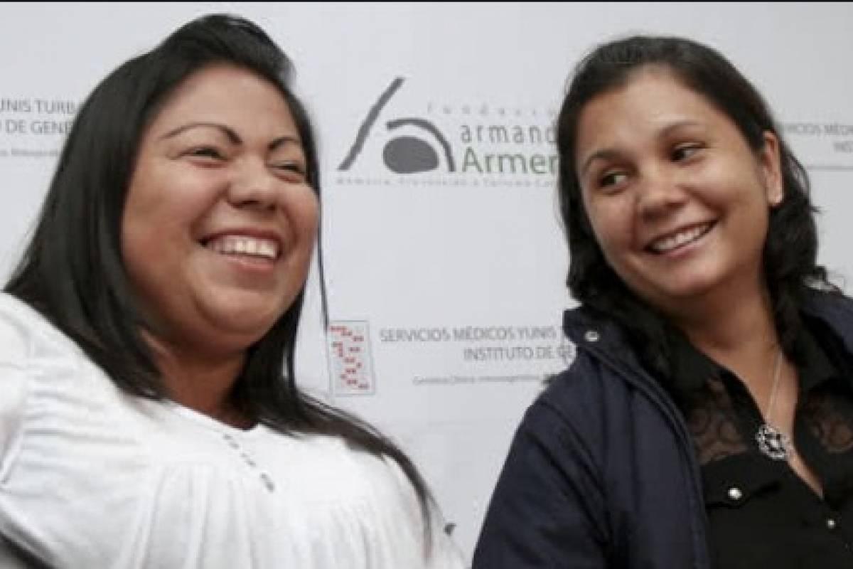 Hermanas separadas por tragedia de Armero se reencontraron tras 34 años - Publimetro Colombia