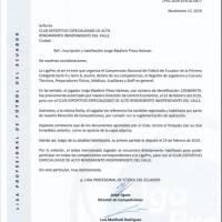 Comunicados de prensa caso Jorge Pinos