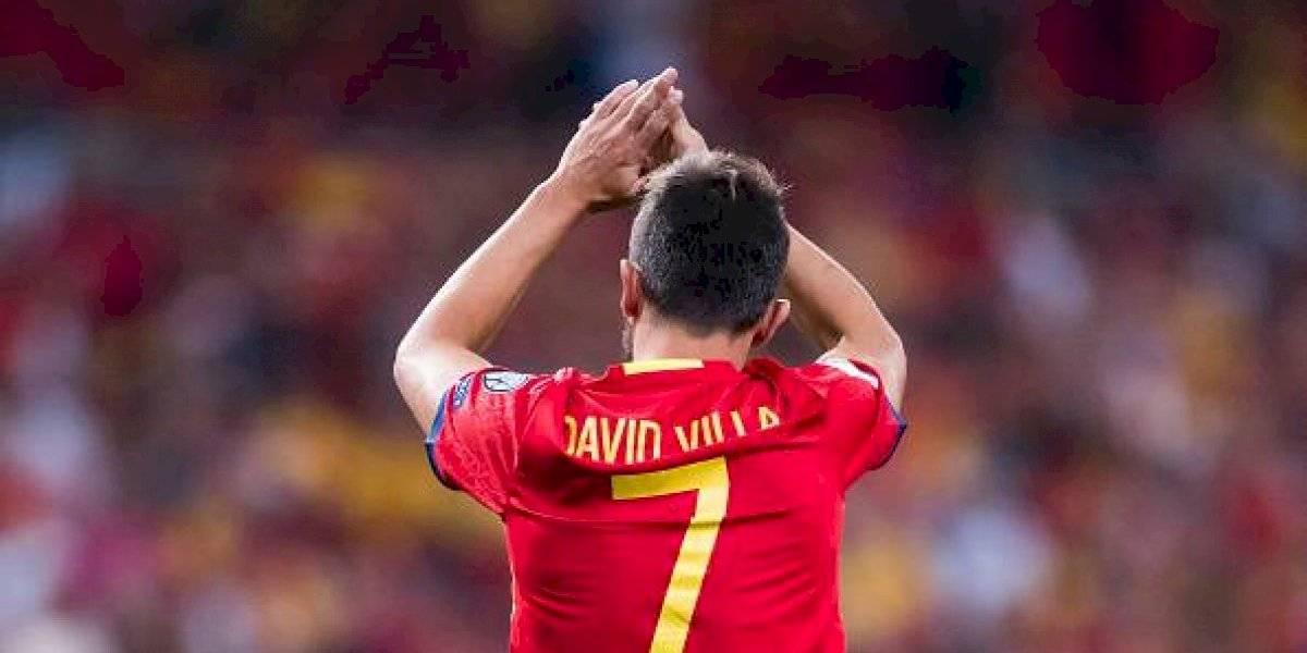David Villa se despide del fútbol, los números que demuestran su grandeza