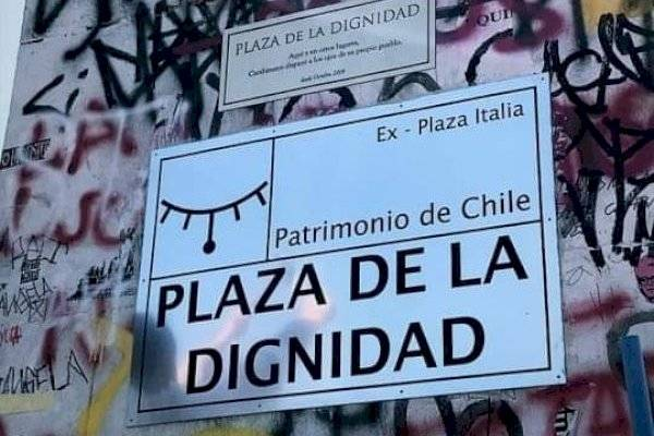 Image result for plaza de la dignidad santiago""