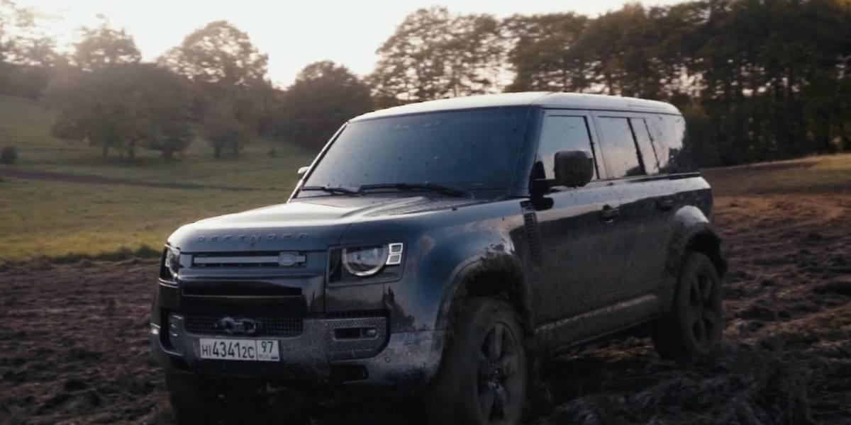 El nuevo Defender de Land Rover es el vehículo de James Bond