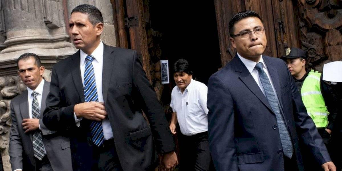 #PolíticaConfidencial Evo Morales cuenta con protección de élite