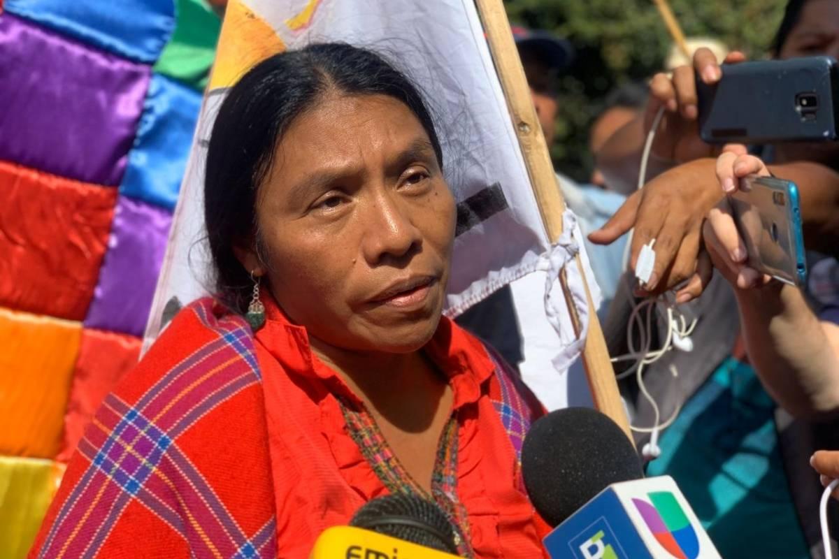 Excandidata presidencial Thelma Cabrera envía mensaje a Evo Morales - Publinews Guatemala