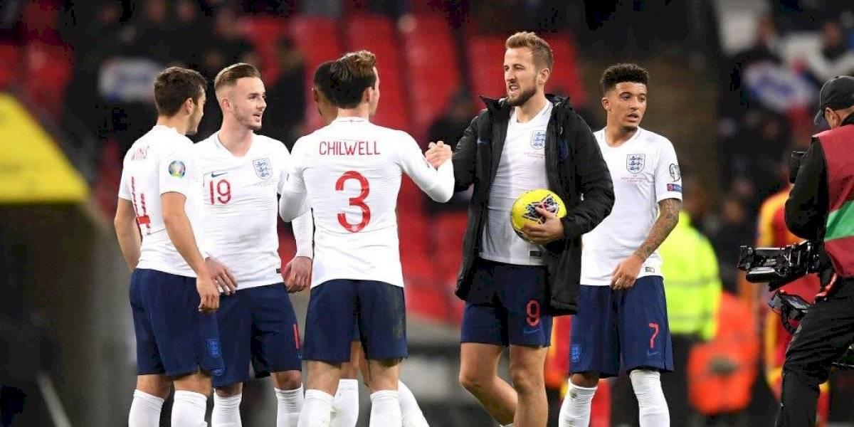 Inglaterra y Francia consiguieron la clasificación a la Eurocopa 2020