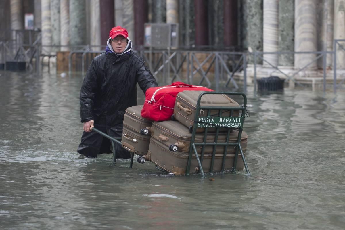 Impactantes imágenes de Venecia inundada a un nivel nunca visto en más de 50 años - Publimetro Colombia