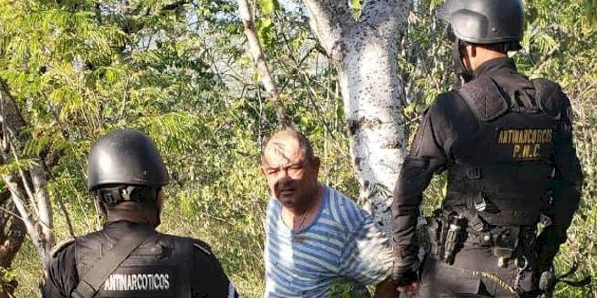 Haroldo Lorenzana Cordón es capturado en Zacapa; intentó huir en caballo
