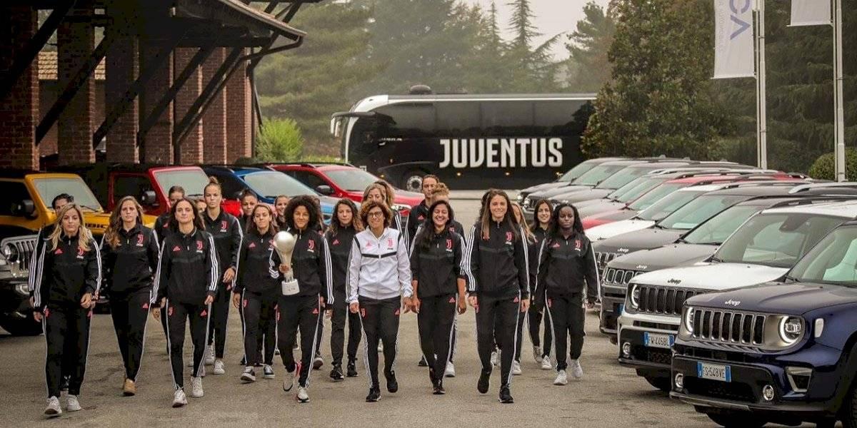 El equipo femenino de fútbol Juventus Women probó la gama Jeep