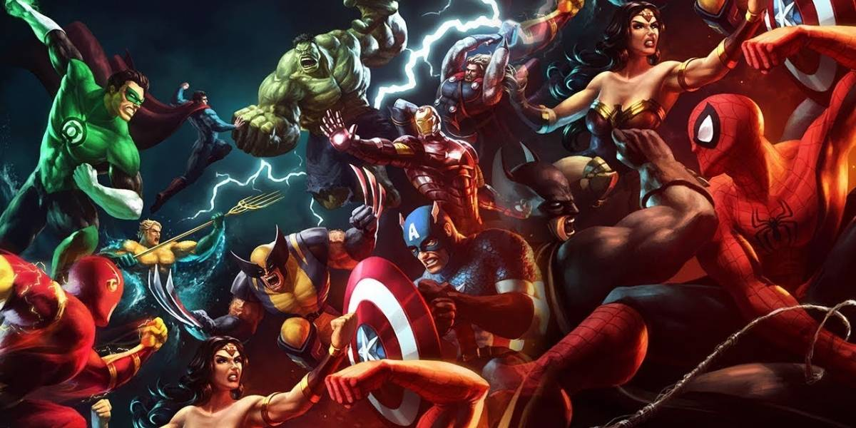 Guerra entre Marvel y DC saldrá en un documental
