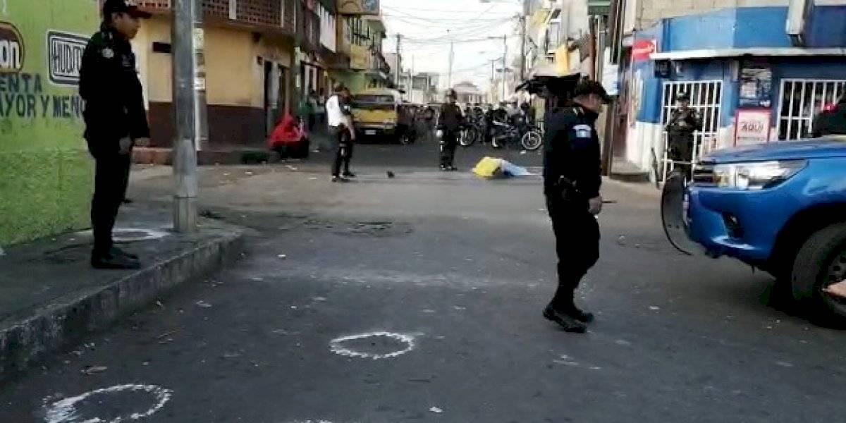 Matan a piloto de mototaxi en zona 7; PNC captura a presuntos sicarios