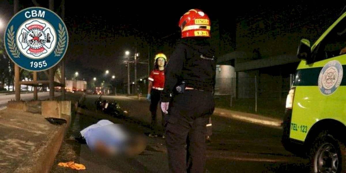 Motorista muere por accidente de tránsito en Aguilar Batres