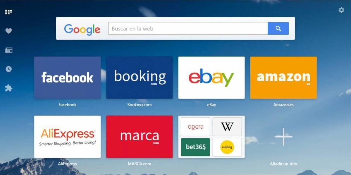 Actualización del navegador Opera mostrará cuándo estás siendo rastreado