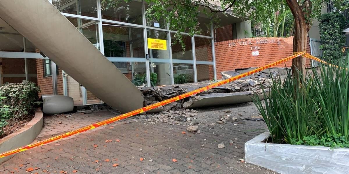 Justiça impede obra em prédio onde marquise desabou em SP