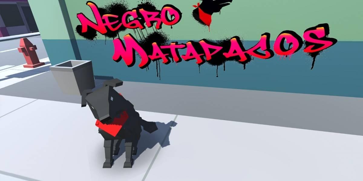 Negro Matapacos THE GAME: Valdivianos de Nemoris lanzan videojuego basado en el legendario perro