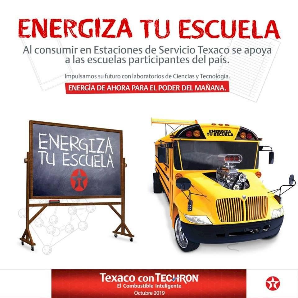 Texaco Energiza tu escuela