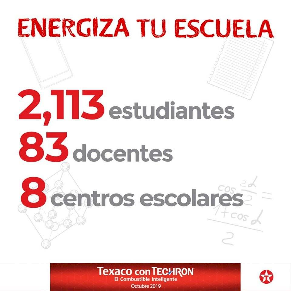 Energiza tu escuela Texaco