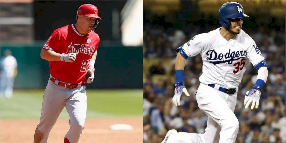 Mike Trout y Cody Bellinger, los Jugadores Más Valiosos de Grandes Ligas