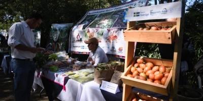 Exposición de agricultores familiares