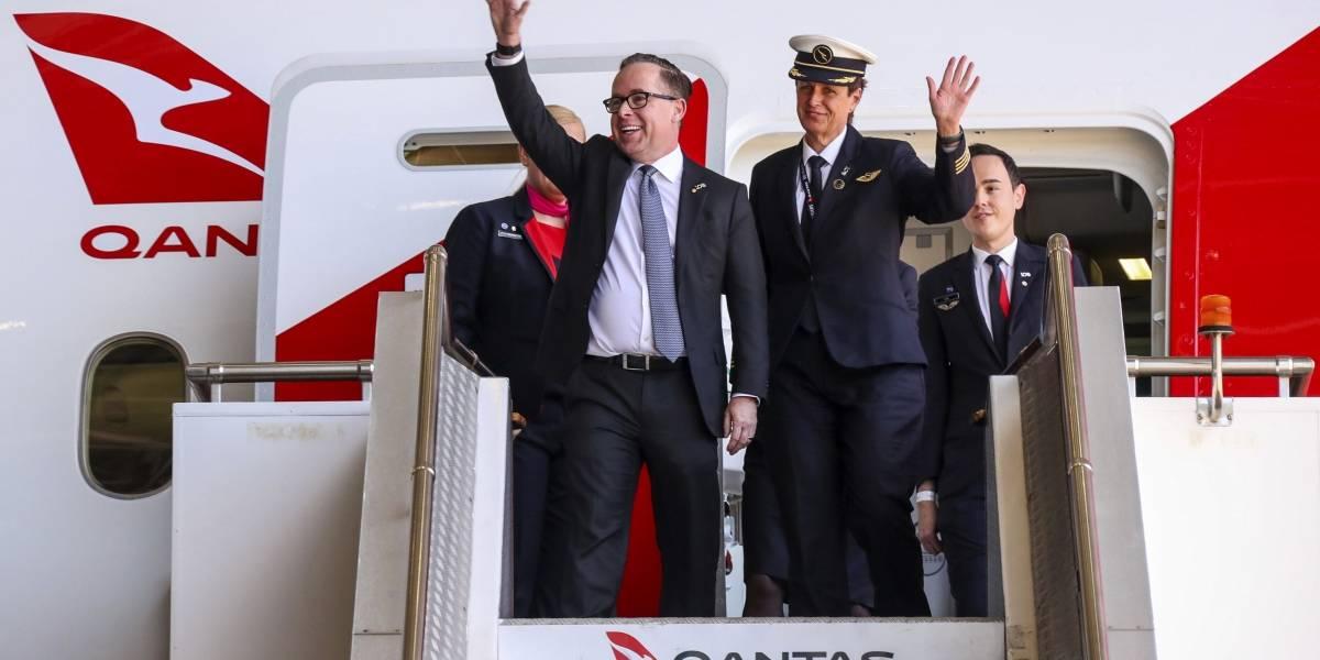 Qantas rompe récord del vuelo más largo del mundo: 19 horas y media