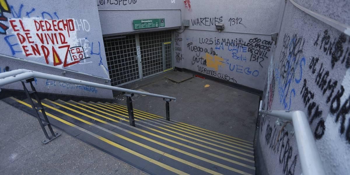 ¿Quiere saber cuándo abre el Metro Baquedano y San Pablo? Mira el cronograma entregado por la estatal