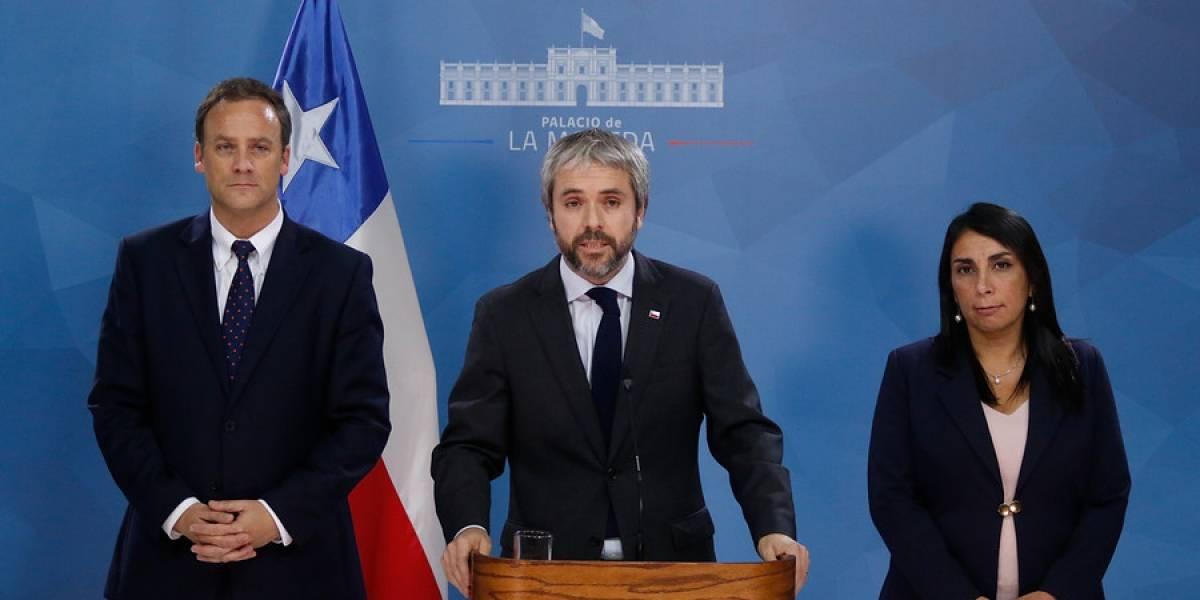 """Gobierno valora acuerdo político para nueva Constitución: """"Es un primer paso histórico y fundamental"""""""