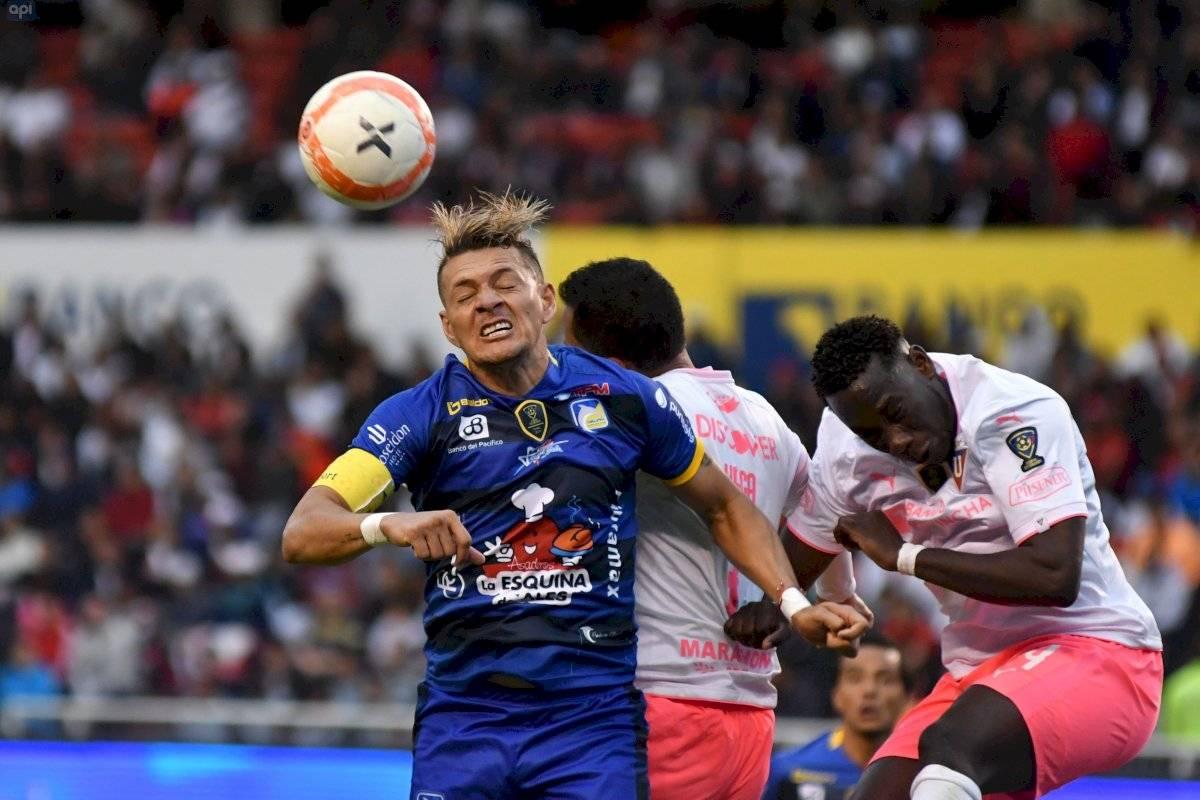 Delfín vs Liga de Quito API