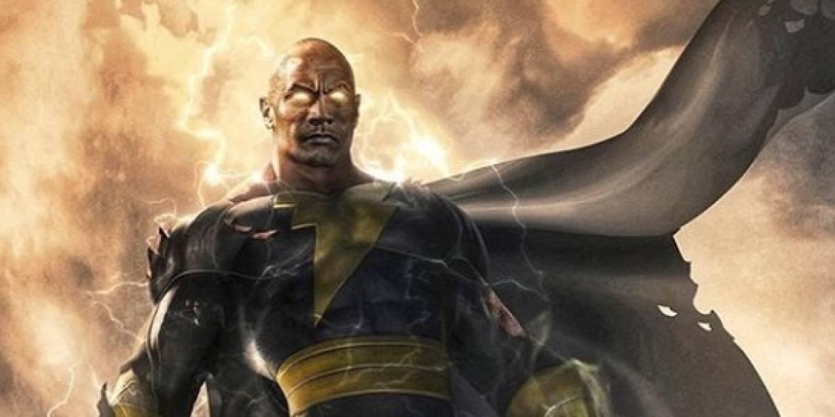 Dwayne Johnson, La Roca, será un superhéroe en Black Adam ¡Así luce!
