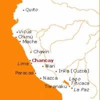 Ubicación de la cultura chancay durante la época prehispánica.