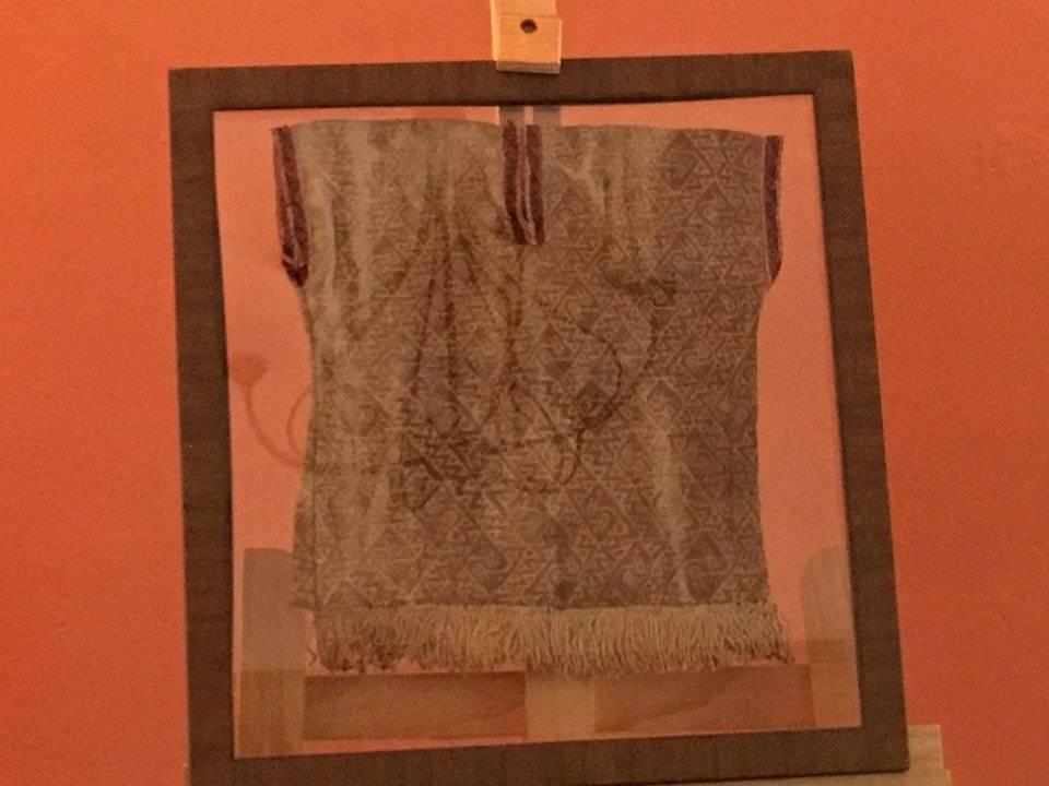 Güipil chancay, pieza textil precolombina de Perú. Foto: Jerson Ramos