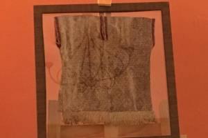 Güipil chancay, pieza textil precolombina de Perú.