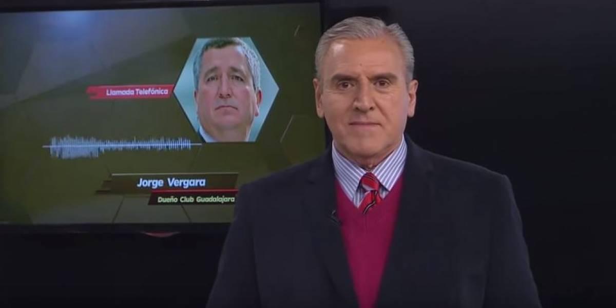 VIDEO. Periodistas mexicanos recuerdan a un polémico Jorge Vergara