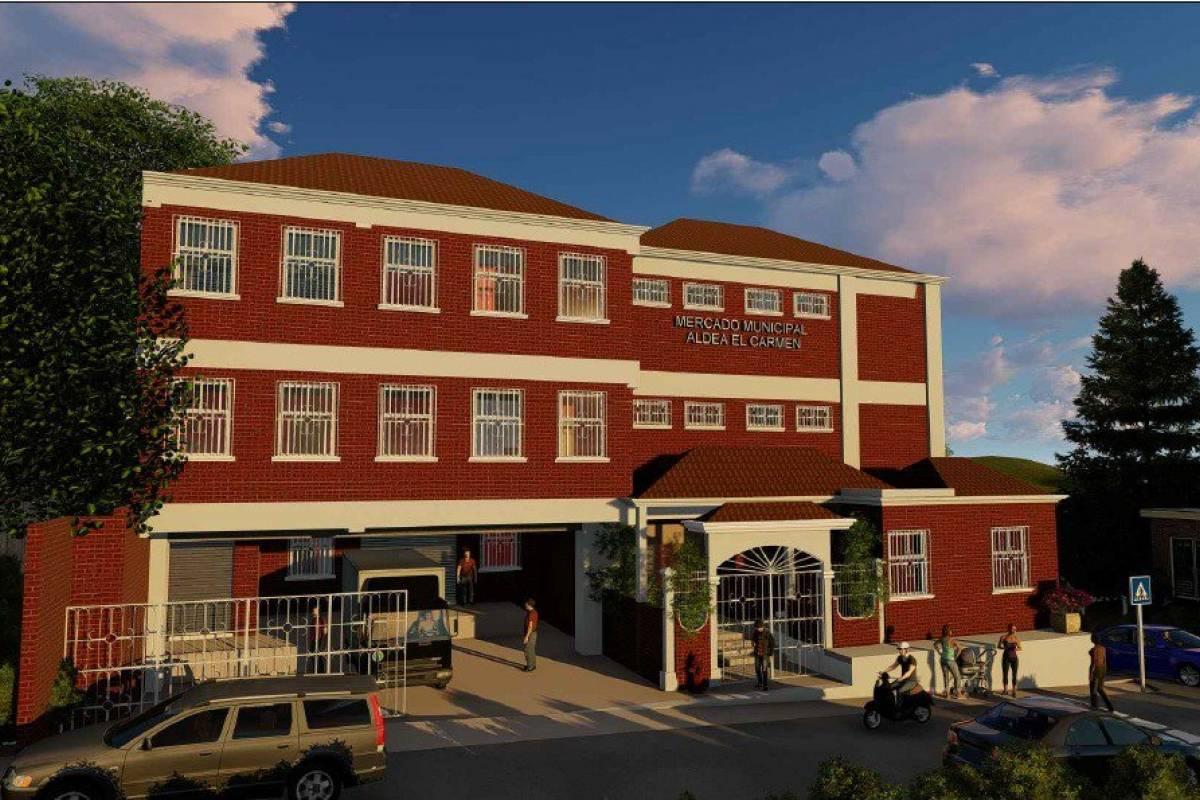Disputa por la construcción del mercado municipal en la aldea El Carmen - Publinews Guatemala