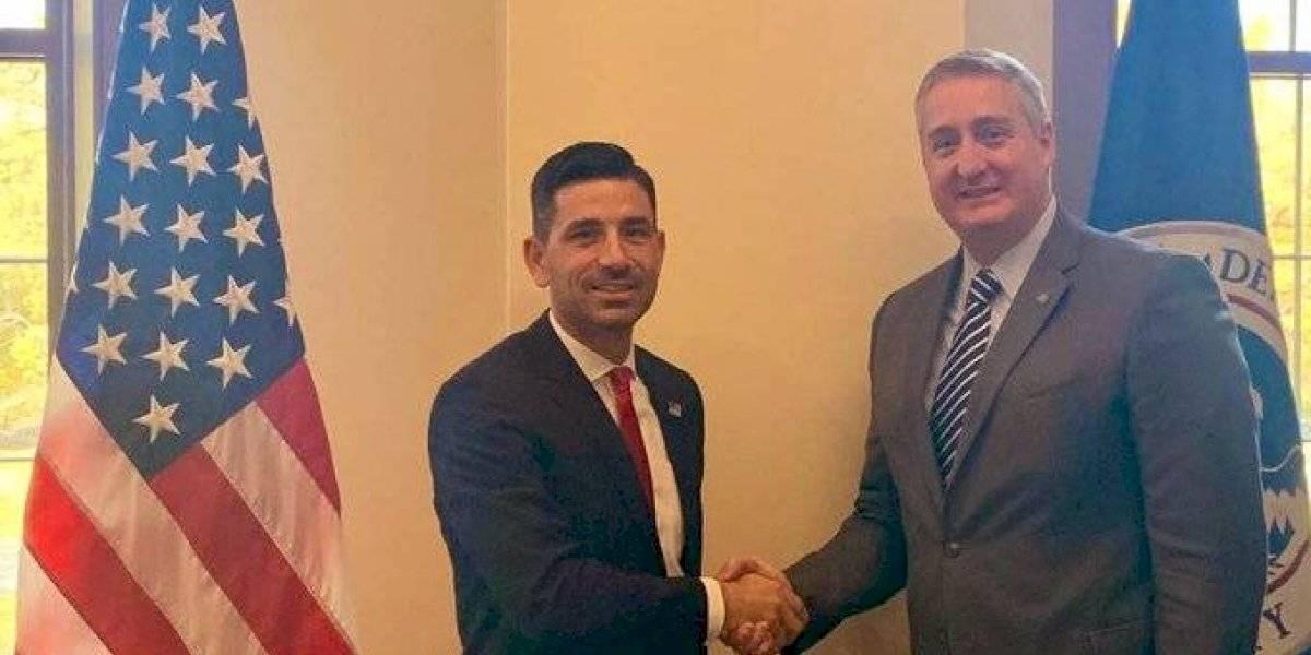 Degenhart se reúne con nuevo secretario de Seguridad Nacional de EE. UU.