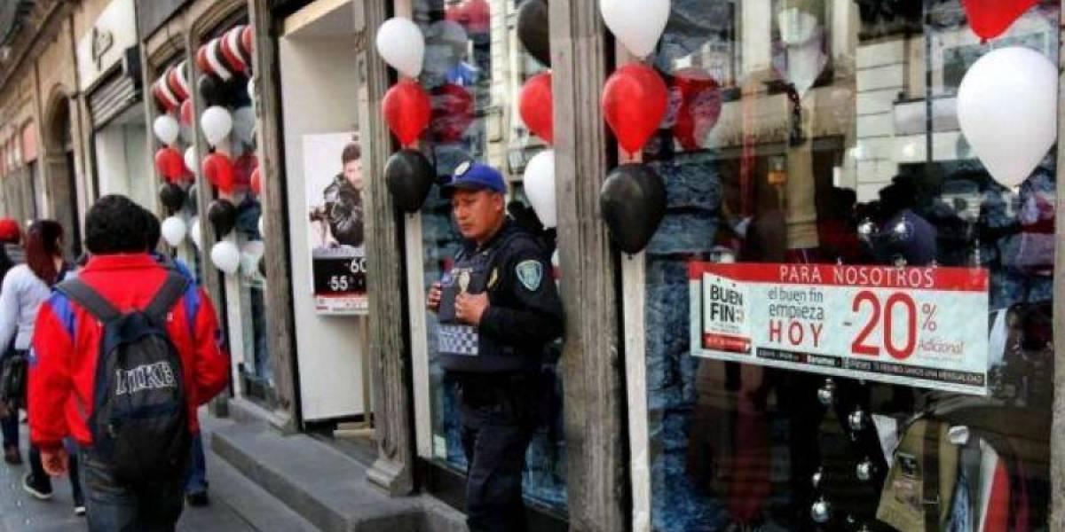 Vigilan más de 10 mil policías la CDMX durante este Buen Fin