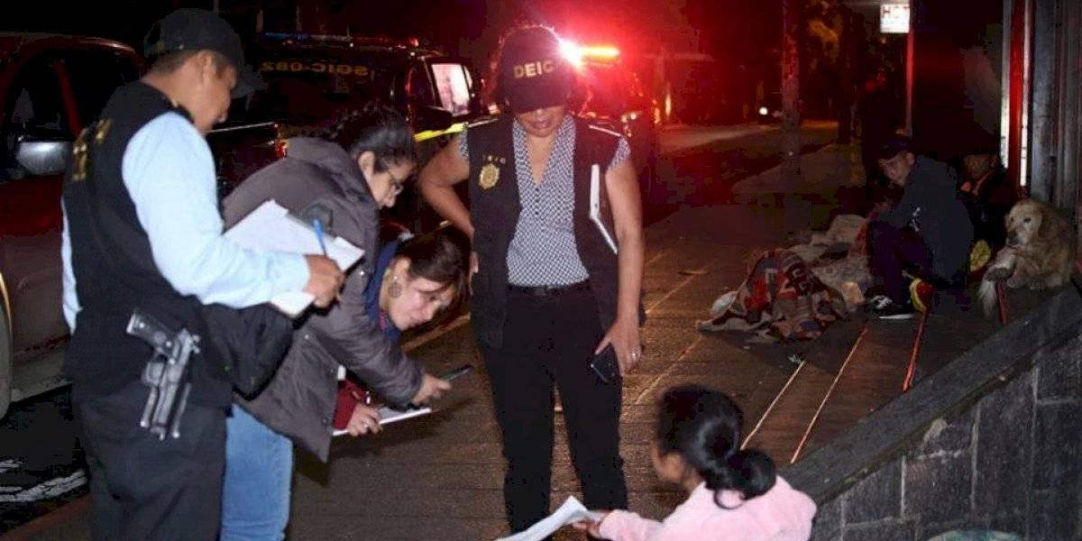 Rescatan a niñas y adolescentes en situación de calle