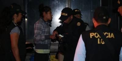 PNC rescata a niñas y adolescentes en situación de calle