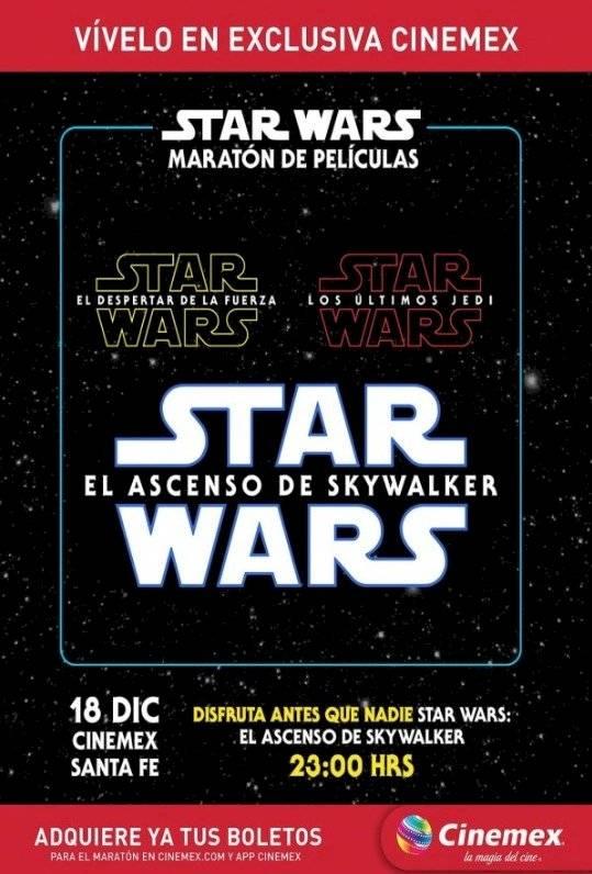 Star Wars Cinemex