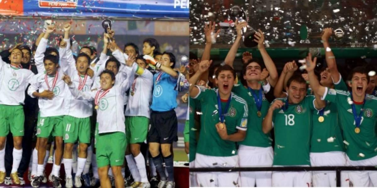 ¿Cuáles fueron las alineaciones de las finales sub 17 conquistadas por México?