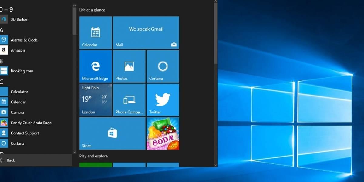 Pendientes: Microsoft lanza nueva actualización de Windows 10