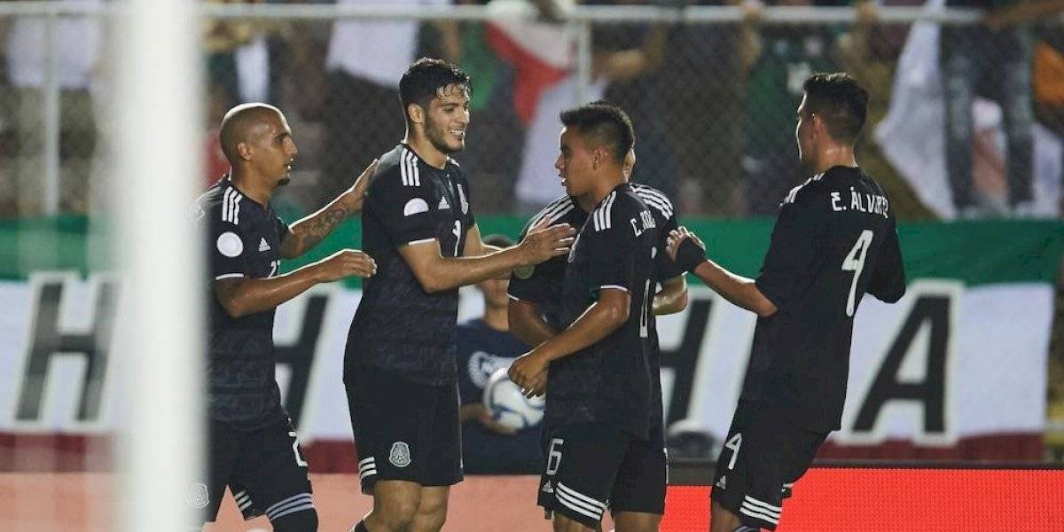México vence 3-0 a Panamá en la Concacaf Nations League